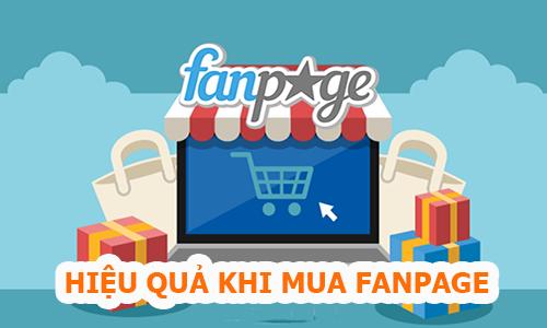 Dịch vụ mua bán Fanpage