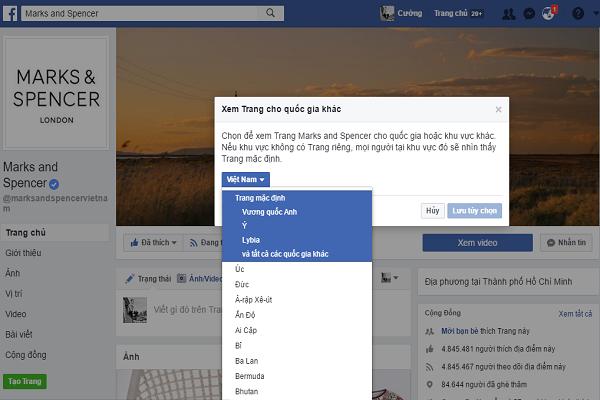 cách lên tích xanh Facebook